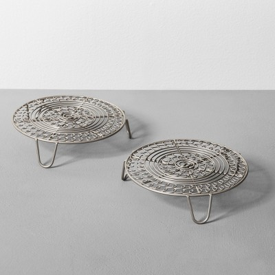 Trivet Set of 2 - Silver - Hearth & Hand™ with Magnolia