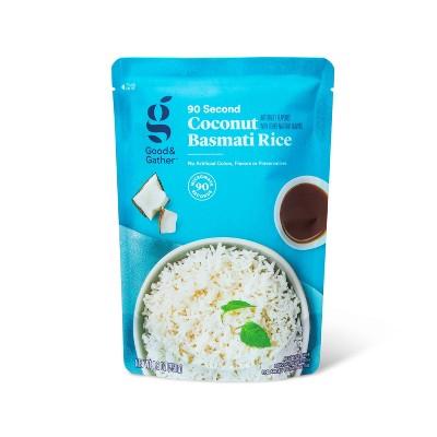 Coconut Basmati Rice Microwavable Pouch - 8.8oz - Good & Gather™