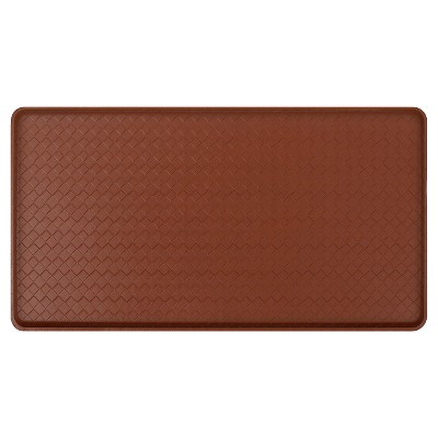 Gelpro Classic Basketweave Comfort Kitchen Mat - Chestnut (20 X36 )