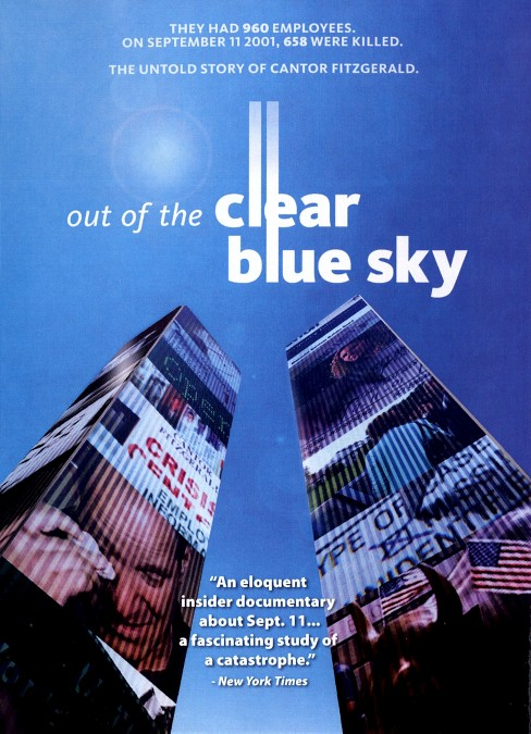 Out Of The Clear Blue Sky (DVD) - image 1 of 1