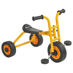 RABO/ECR4Kids Yellow Beginner Pedaling Trike,Tricycle for Backyards & Playground