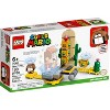 LEGO Super Mario Desert Pokey Expansion Set Collectible Building Toy for Creative Kids 71363 - image 4 of 4
