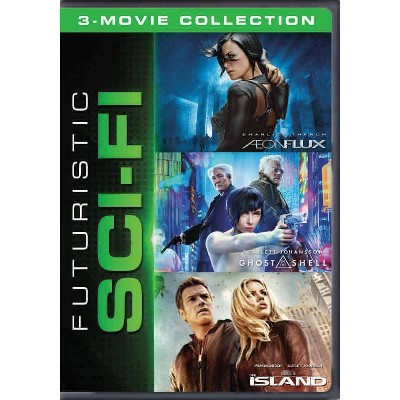 Futuristic Sci-Fi 3-Movie Collection (DVD)(2020)