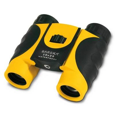Barska 10x25mm Colorado Waterproof Compact Binoculars - Yellow