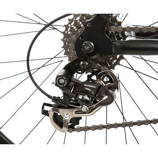 "Titan Dark Knight Alloy Men's Mountain 26"" Bike with Suspension shock, 21 speeds, Men's, Black image number null"