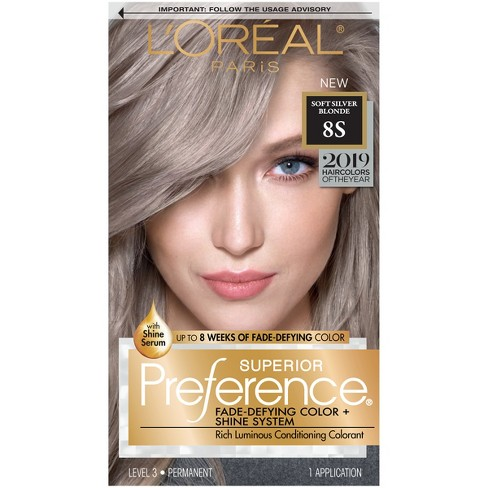 L\'Oral Paris Fade - Defying Color + Shine System Permanent Hair ...