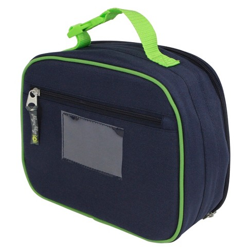 f3c9e9e3e789 Itzy Ritzy Lunch Happens Insulated Lunch Bag Monkey - Blue