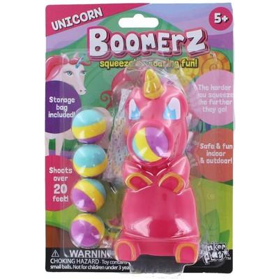 Anker Play Unicorn Boomerz Ball Shooter Popper Toy