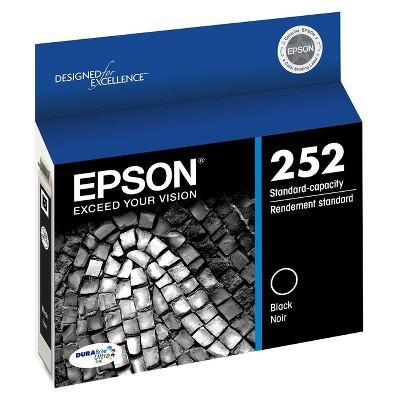 Epson 252 Single, 2pk, 3pk & 4pk Ink Cartridges - Black, Multicolor