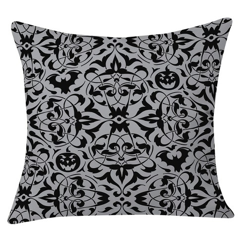 "20""x20"" Heather Dutton Gothique Throw Pillow Black - Deny Designs - image 1 of 3"