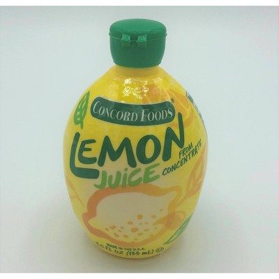 Concord Foods Reconstituted Lemon Juice - 4.5 fl oz