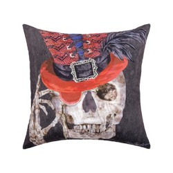 C&F Home Skullastic Halloween Indoor/Outdoor Decorative Throw Pillow