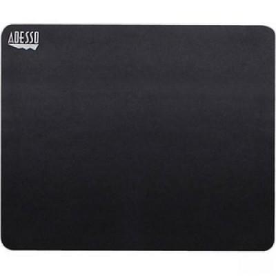 "Adesso TRUFORM P100 - Mouse Pad - 8"" x 8"" Dimension - Black - Rubber Base, Fiber - Scratch Resistant, Anti-slip"
