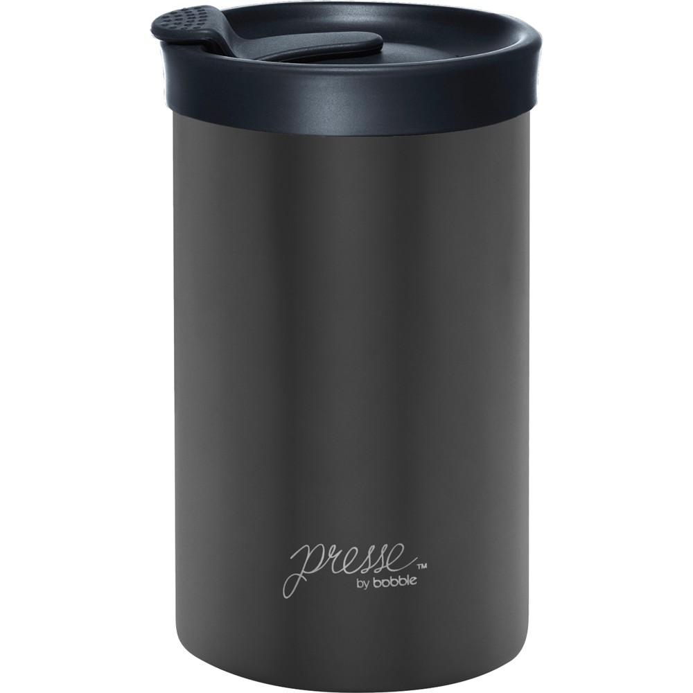 Image of Bobble Presse Stainless Steel Travel Mug 13oz - Gunmetal, Grey