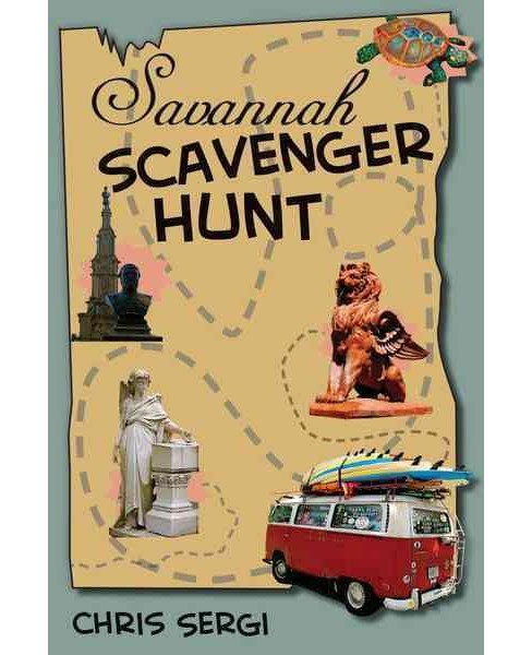 Savannah Scavenger Hunt (Paperback) (Chris Sergi) - image 1 of 1