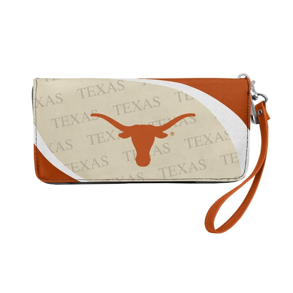 NCAA Texas Longhorns Little Earth Curve Zip Organizer Wallet, Adult Unisex