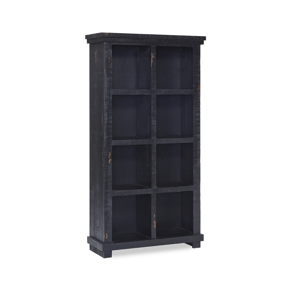 Willow Bookcase 64 - Black - Progressive Furniture Willow Bookcase 64 - Black - Progressive Furniture