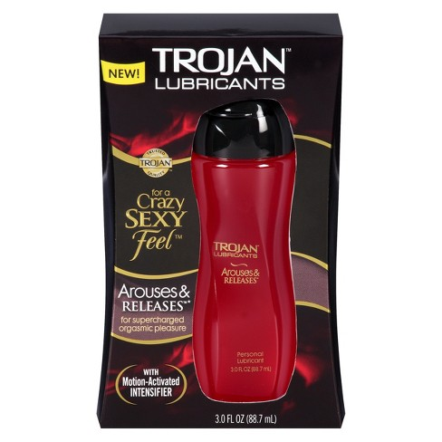 Trojan™ Lubes Simply Pleasure™ Arouses & Releases Personal Lube - 3.0 fl oz - image 1 of 4
