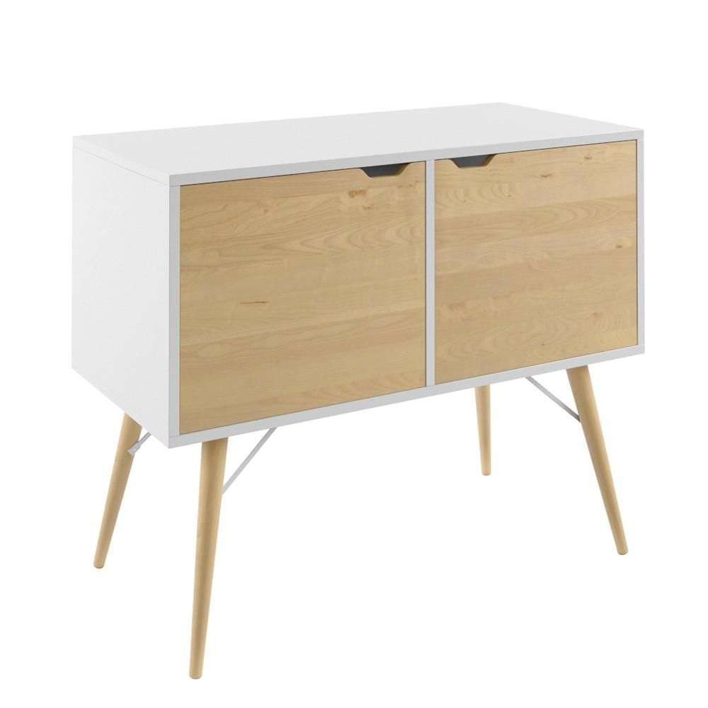 30 Blythe Storage Cabinet White - Jamesdar