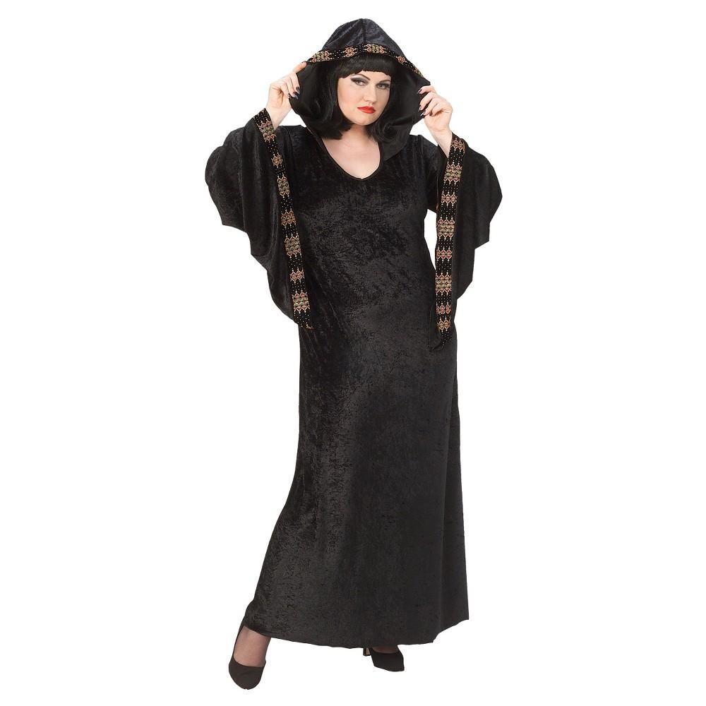 Women's Midnight Priestess Costume 16W/18W, Size: 1x (16W/18W), Multi-Colored