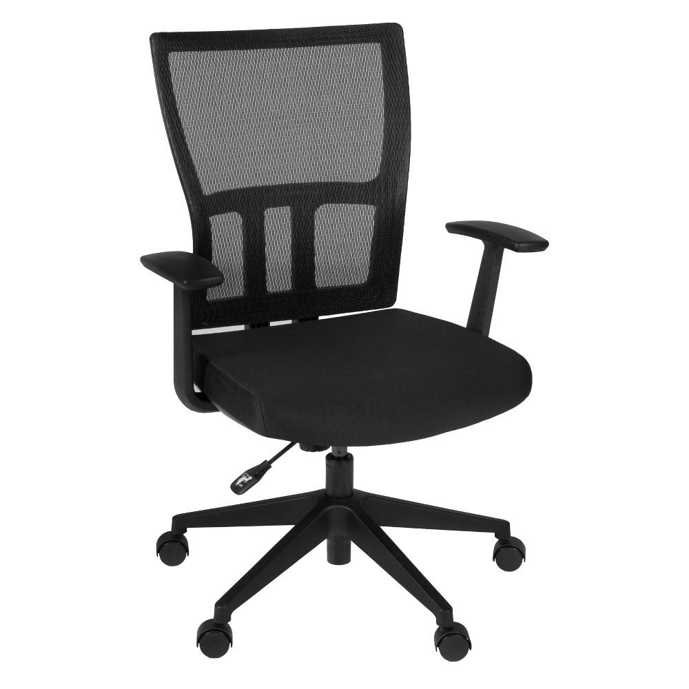 Image of Abbi Swivel Chair Black - Niche