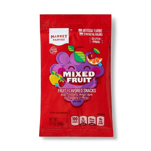Mixed Fruit-Flavored Snack 3.5oz - Market Pantry™ - image 1 of 3