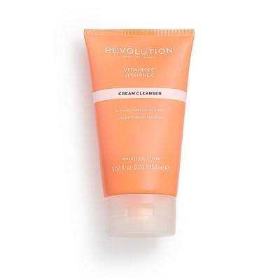 Makeup Revolution Skincare Vitamin C Cream Cleanser - 3.38 fl oz