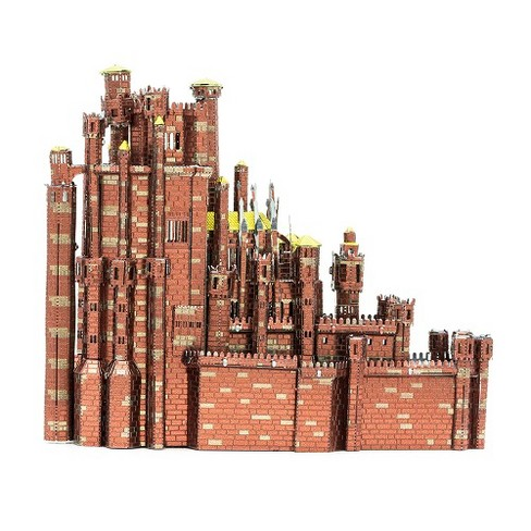 Fascinations Metal Earth ICONX - Game of Thrones - Red Keep 3D Metal Model Kit - image 1 of 3