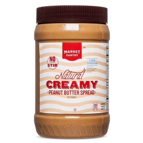 Natural Peanut Butter - 40oz - Market Pantry™ - image 1 of 1
