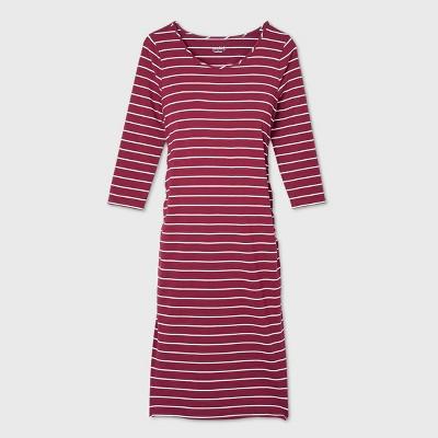 3/4 Sleeve T-Shirt Maternity Dress - Isabel Maternity by Ingrid & Isabel™