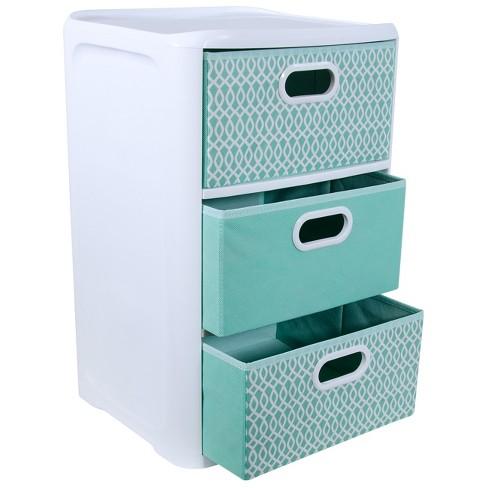 Storage Drawers Home Logic Aqua Target