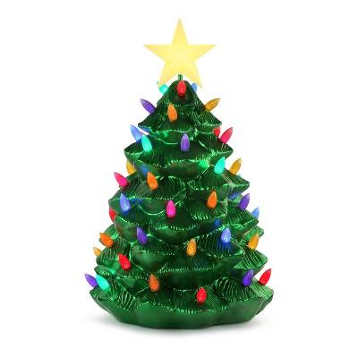 "Mr. Christmas Outdoor Nostalgic LED Christmas Tree - Green Metallic - 36"""