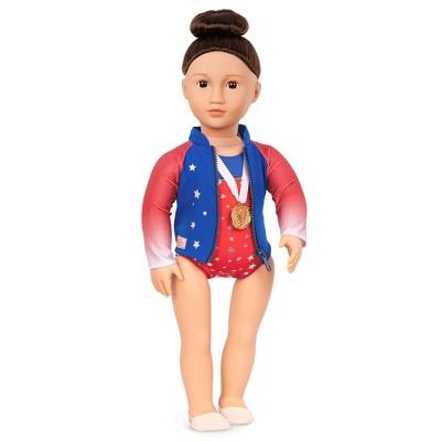 "Our Generation Athletic Team Series 18"" Gymnastics Doll - Sun"