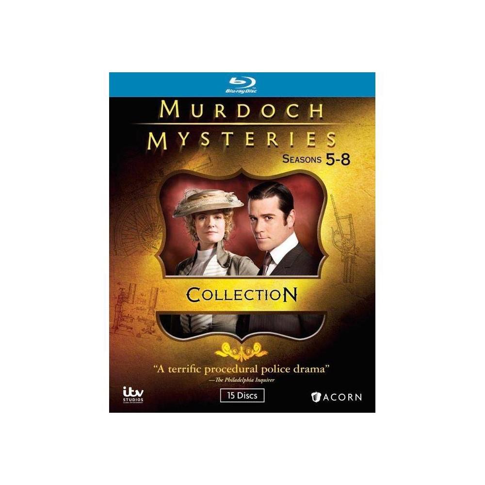 Murdoch Mysteries Collection 5 8 Blu Ray