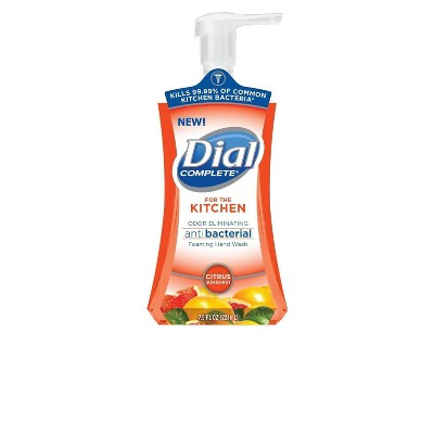 Dial Complete Kitchen Citrus Foam Pump - 7.5oz