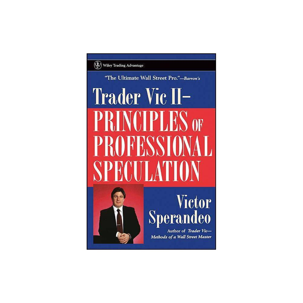 Trader Vic Ii Wiley Trading By Victor Sperandeo Paperback