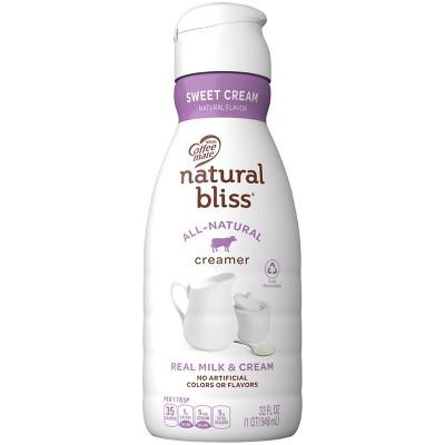 Coffee mate Natural Bliss Sweet Cream Coffee Creamer - 1qt