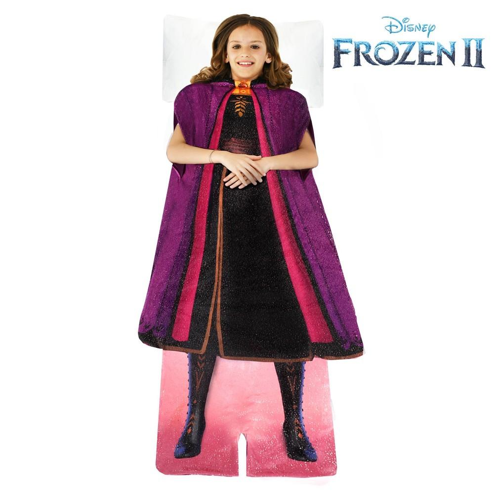 Image of Frozen II Anna Blanket Purple
