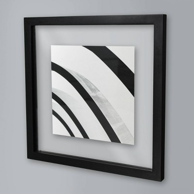 12  x 12  Single Picture Float Frame Black - Made By Design™