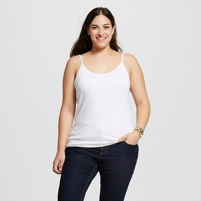 Women's Plus Size Slim Fit Cami - Ava & Viv™