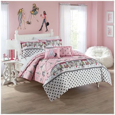 Ooh La La Reversible Comforter Set - Waverly Kids