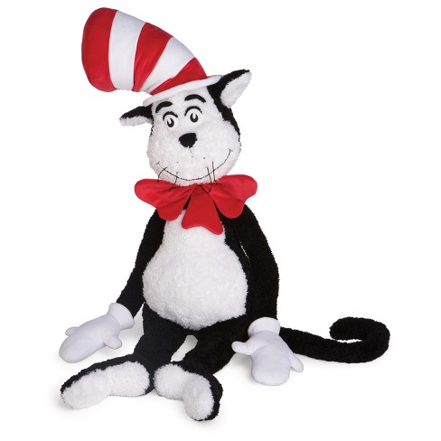 Manhattan Toy Dr Seuss Cat In The Hat 60 Jumbo Soft Plush Toy Target