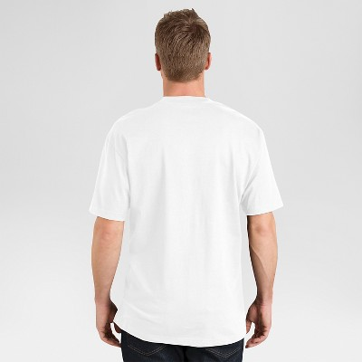 petiteDickies Men's 2 Pack Cotton Short Sleeve Pocket T-Shirt - White M, Size: Medium