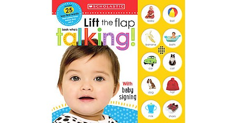 Look Who's Talking! ( Scholastic Early Learners) (Board) by Scholastic Inc. - image 1 of 1