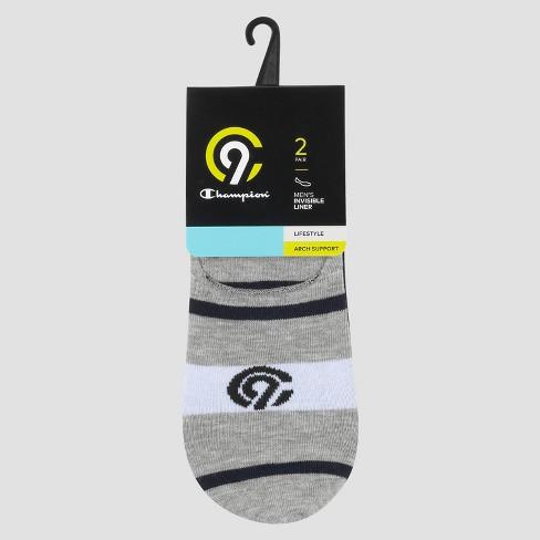 8ad8afdb20a Men s Invisible Liner Athletic Socks 2pk - C9 Champion® 6-12   Target