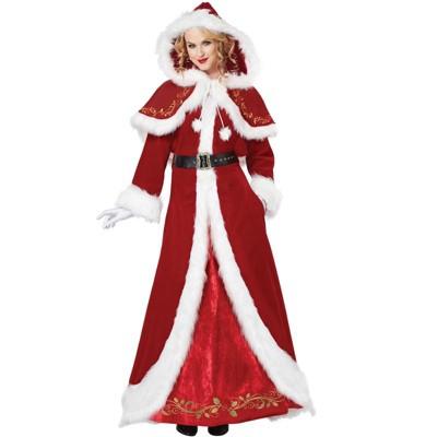 California Costumes Deluxe Mrs. Claus Adult Costume
