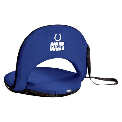 NFL Oniva Seat Portable Recliner Chair by Picnic Time - Navy