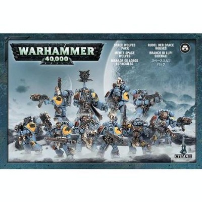 Warhammer Space Wolves Pack (2009 Edition) Miniatures Box Set