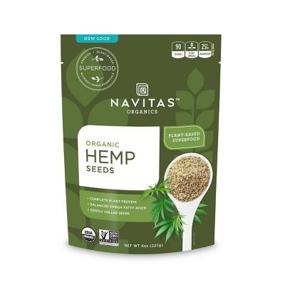 Navitas Organics Hemp Seeds - 8oz