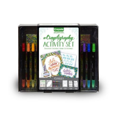 Crayola Signature 45pc Calligraphy Activity Set - image 1 of 4